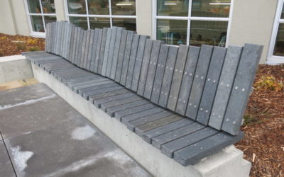 Recycled Plastic Benches Part of Canada Winter Games Sustainability Legacy