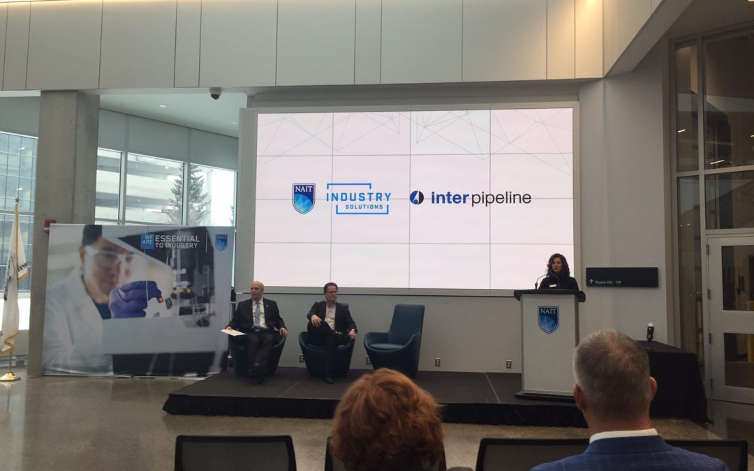 Inter Pipeline Announces $10 Million Commitment to NAIT to Research Plastic Waste Reduction