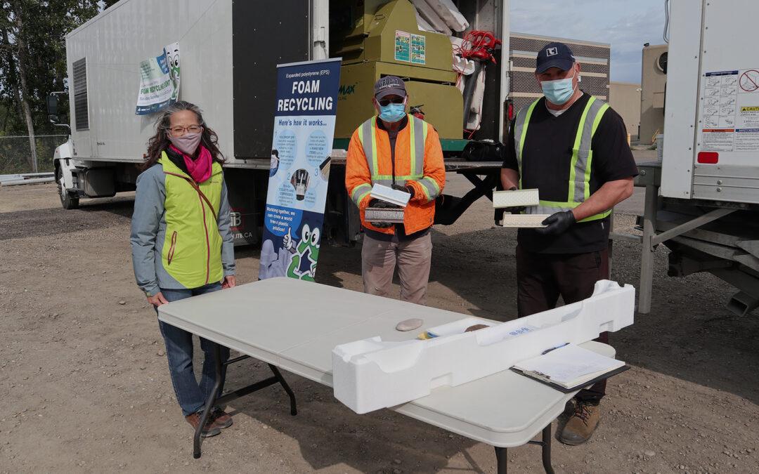 Foam Recycling Event Assesses Future Program Viability